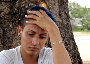 Asylum-seeker Bairon Ochoa, 22, fled death threats in Honduras. Photo by Katie Schlechter